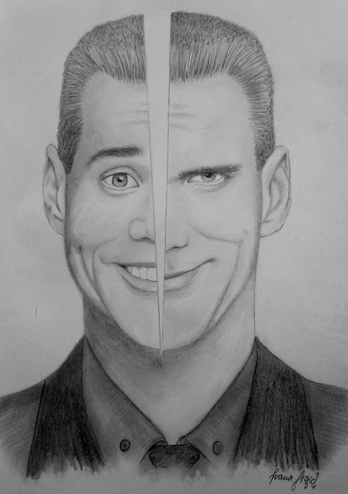 Jim Carrey by penInna